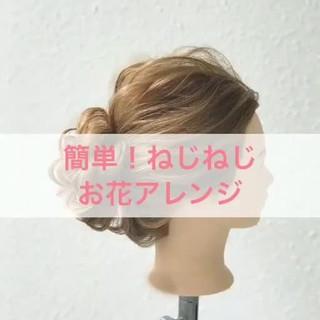 エレガント お祭り 花火大会 上品 ヘアスタイルや髪型の写真・画像