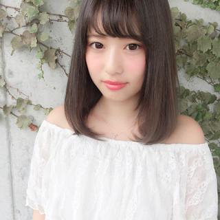 秋 女子会 デート 透明感 ヘアスタイルや髪型の写真・画像