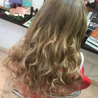 外国人風 ヘアアレンジ 女子会 ロング ヘアスタイルや髪型の写真・画像