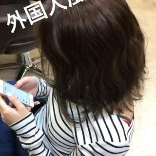 透明感 春 夏 フェミニン ヘアスタイルや髪型の写真・画像