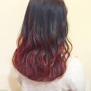 ゆるふわ ピンク カール 簡単ヘアアレンジ ヘアスタイルや髪型の写真・画像