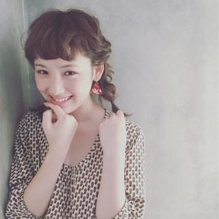 ショート 外国人風 簡単ヘアアレンジ ピュア ヘアスタイルや髪型の写真・画像