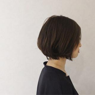 色気 ボブ 黒髪 こなれ感 ヘアスタイルや髪型の写真・画像