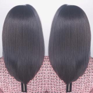 ロング ナチュラル ミルクティー グラデーションカラー ヘアスタイルや髪型の写真・画像 ヘアスタイルや髪型の写真・画像