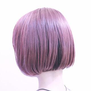 ハイライト グラデーションカラー ボブ 色気 ヘアスタイルや髪型の写真・画像