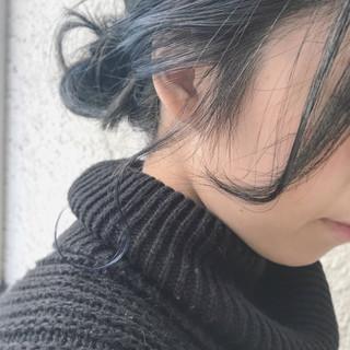 こなれ感 ボブ 外ハネ ブリーチ ヘアスタイルや髪型の写真・画像