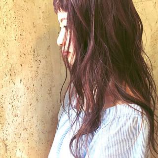 ガーリー ロング ピュア ゆるふわ ヘアスタイルや髪型の写真・画像