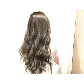 渋谷系 ストリート 外国人風 ロング ヘアスタイルや髪型の写真・画像