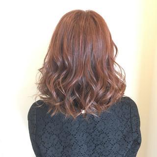 外国人風カラー ミディアム 春 透明感 ヘアスタイルや髪型の写真・画像