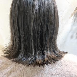 ナチュラル グレージュ 色気 こなれ感 ヘアスタイルや髪型の写真・画像