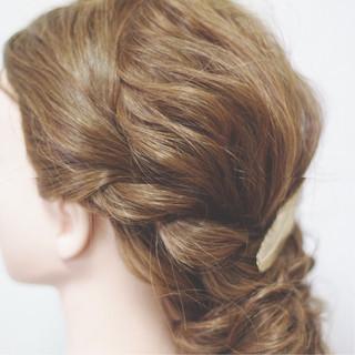 セミロング ナチュラル ヘアアレンジ ショート ヘアスタイルや髪型の写真・画像 ヘアスタイルや髪型の写真・画像