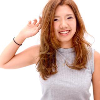 フェミニン グラデーションカラー ヘアアレンジ ガーリー ヘアスタイルや髪型の写真・画像