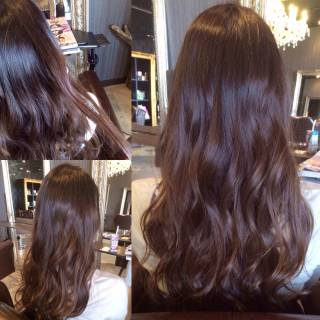ロング 暗髪 グラデーションカラー ストリート ヘアスタイルや髪型の写真・画像