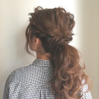 ショート 簡単ヘアアレンジ 結婚式 花嫁 ヘアスタイルや髪型の写真・画像