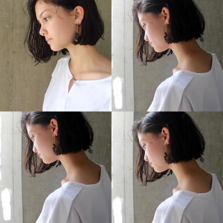 モード デート 夏 涼しげ ヘアスタイルや髪型の写真・画像