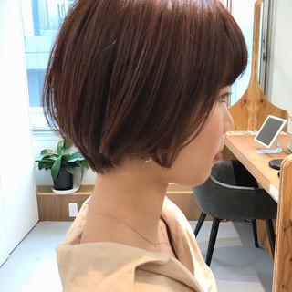 オフィス ショート デート 大人かわいい ヘアスタイルや髪型の写真・画像