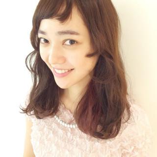 大人かわいい ピュア 姫カット モテ髪 ヘアスタイルや髪型の写真・画像