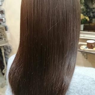 外国人風 パーマ アッシュ ブラウン ヘアスタイルや髪型の写真・画像