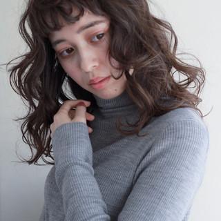 外国人風カラー ガーリー パーマ 愛され ヘアスタイルや髪型の写真・画像