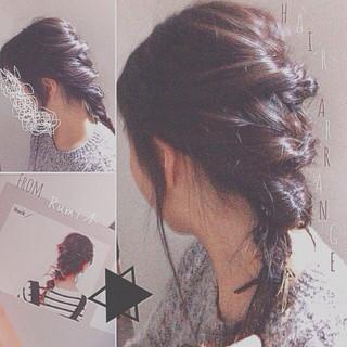 ショート ストレート セミロング ヘアアレンジ ヘアスタイルや髪型の写真・画像 ヘアスタイルや髪型の写真・画像
