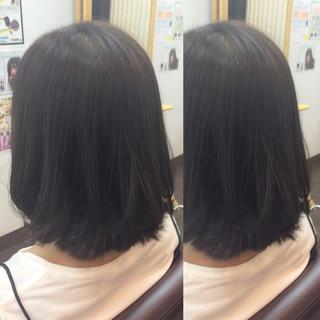 黒髪 ボブ 外国人風 ブルージュ ヘアスタイルや髪型の写真・画像
