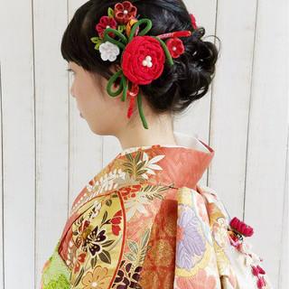 ヘアアレンジ 成人式 ロング 謝恩会 ヘアスタイルや髪型の写真・画像