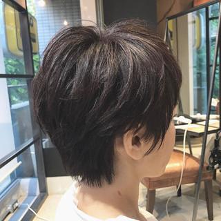ナチュラル 大人カジュアル oggiotto 大人ショート ヘアスタイルや髪型の写真・画像