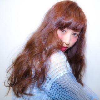 ゆるふわ おフェロ 愛され ガーリー ヘアスタイルや髪型の写真・画像