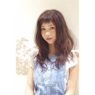 外国人風 セミロング ウェットヘア 大人かわいい ヘアスタイルや髪型の写真・画像 ヘアスタイルや髪型の写真・画像