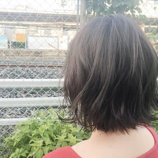 ナチュラル 透明感 秋 リラックス ヘアスタイルや髪型の写真・画像