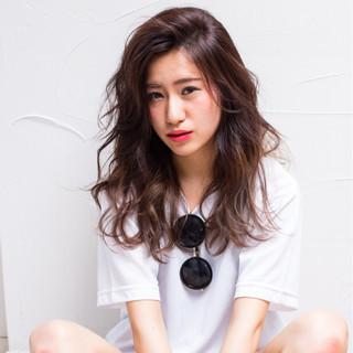 グラデーションカラー ストリート 外国人風 ハイトーン ヘアスタイルや髪型の写真・画像