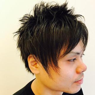 刈り上げ メンズ ボーイッシュ モード ヘアスタイルや髪型の写真・画像
