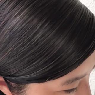 ナチュラル ショート ハイライト おかっぱ ヘアスタイルや髪型の写真・画像