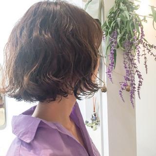 大人かわいい コンサバ ボブ 冬 ヘアスタイルや髪型の写真・画像