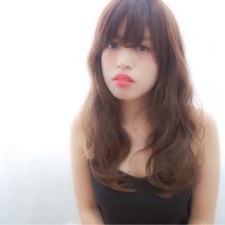 モテ髪 ロング ピュア ナチュラル ヘアスタイルや髪型の写真・画像 ヘアスタイルや髪型の写真・画像