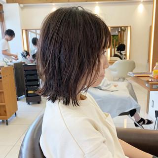 ヘアアレンジ 前下がり 前下がりボブ ショート ヘアスタイルや髪型の写真・画像