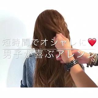 エレガント 女子会 夏 ヘアアレンジ ヘアスタイルや髪型の写真・画像