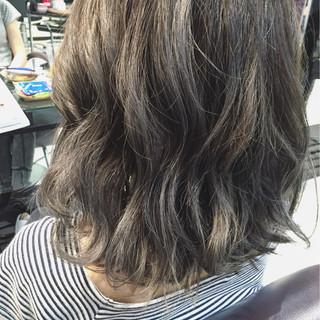 ボブ ミディアム 外国人風 ストリート ヘアスタイルや髪型の写真・画像