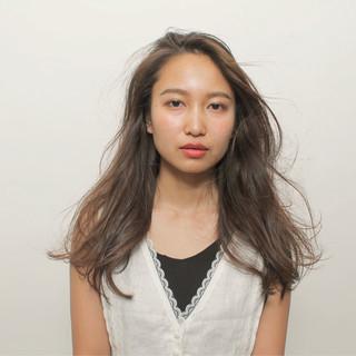 ロング 簡単ヘアアレンジ 透明感 女子力 ヘアスタイルや髪型の写真・画像
