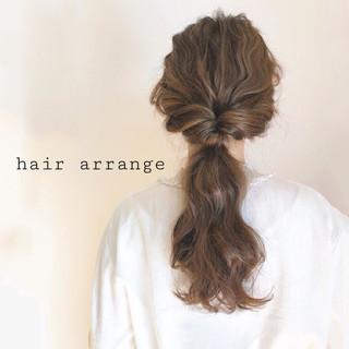 ラフ ロング デート ナチュラル ヘアスタイルや髪型の写真・画像