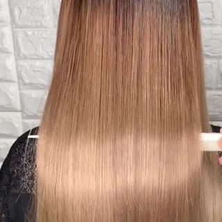 サイエンスアクア ロング 美髪 成人式 ヘアスタイルや髪型の写真・画像