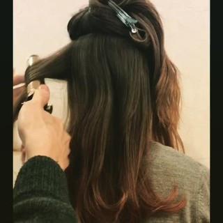 ミディアム パーマ ロング 外国人風 ヘアスタイルや髪型の写真・画像 ヘアスタイルや髪型の写真・画像