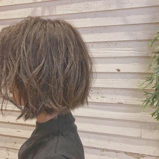 ミディアム 簡単ヘアアレンジ スポーツ ショート ヘアスタイルや髪型の写真・画像
