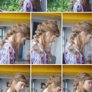 ガーリー 外国人風 ヘアアレンジ ロング ヘアスタイルや髪型の写真・画像 ヘアスタイルや髪型の写真・画像