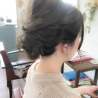 リラックス ヘアアレンジ ミディアム 涼しげ ヘアスタイルや髪型の写真・画像 ヘアスタイルや髪型の写真・画像