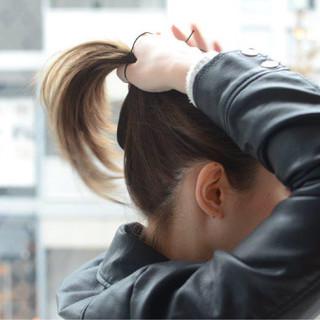 ショート 巻き髪 簡単ヘアアレンジ ポニーテール ヘアスタイルや髪型の写真・画像 ヘアスタイルや髪型の写真・画像