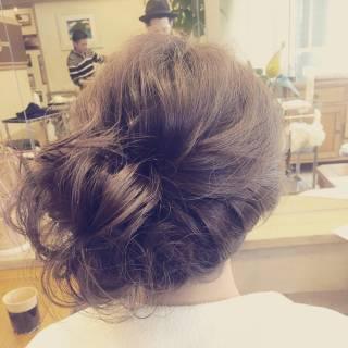 コンサバ ヘアアレンジ フェミニン モテ髪 ヘアスタイルや髪型の写真・画像
