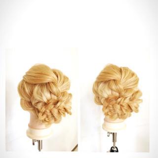 大人女子 ショート ヘアアレンジ 外国人風 ヘアスタイルや髪型の写真・画像