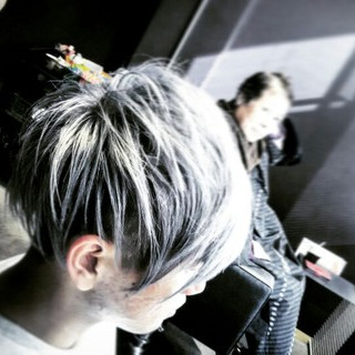 ショート モード メンズ ヘアスタイルや髪型の写真・画像