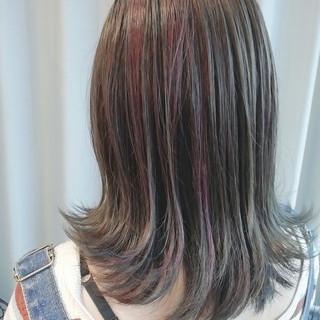 抜け感 切りっぱなし フェミニン ボブ ヘアスタイルや髪型の写真・画像